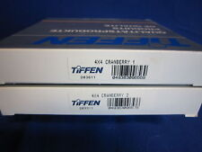 TIFFEN  4X4  FILTER   CRANBERRY  1, 2   (LOT OF 2)