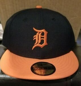 Detroit Tigers Cooperstown hat New Era fitted hat 7 5/8 low pro NWT