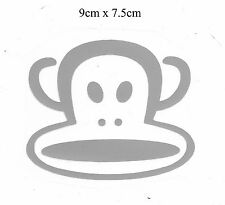DIY Iron-on Iron-on Sticker (9 x 7.5cm) is0117 Paul Frank (Silver color)