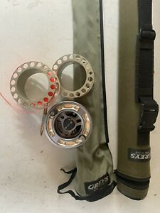 fly fishing rod and reel used