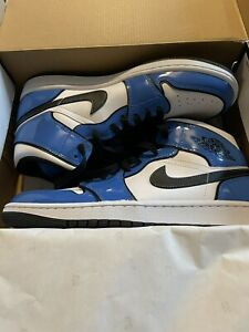 Nike Air Jordan 1 Mid SE Signal Blue - UK 8 -Trusted Seller