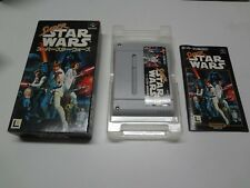 Super Star Wars Nintendo Super Famicom Japan