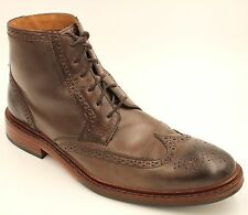 Cole Haan Men Gaffney Ankle Boots Size 10M Brown Leather