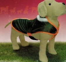 JOLLY MANTEAU Imperméable KAKI ORANGE Taille dos 55cm pour Chien HABIT VETEMENT