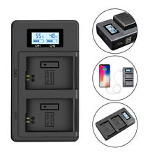 NP-FW50 Camera Battery Charger Dual Charger for Sony A6000 5100 a3000 alpha 7