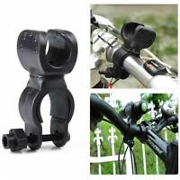 360 Degree Bike LED Flashlight Mount Holder Bicycle Torch Clip Clamp