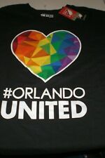 MLS Orlando City SC #ORLANDOUNITED  Adidas T Shirt Size XL BLACK New Tags