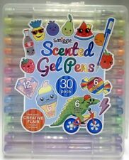 Smiggle Scented Gel Pens 12 Gitter 6 Pastel 6 Colour 6 Neon Set of 30