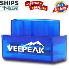 Veepeak Mini Bluetooth OBD2 Scanner OBD II Car Diagnostic Tool Compatible with A