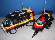LEGO Model Team 5581 Magic Flash Anhänger Truck Trailer Boot Auto Aufkleber 90s