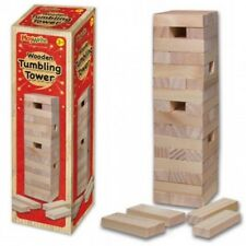 TUMBLING TOWER Wooden Stacking Game Like Jenga Kids Family Traditional Board 54p