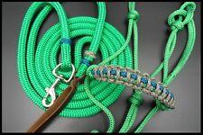 14ft Lead, Rope Halter Natural Horsemanship Unique Set Premium Quality