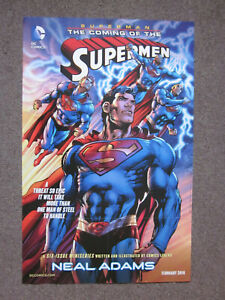DC Comics Superman Coming Of The Supermen NealAdams DComics SuperheroPoster34x22