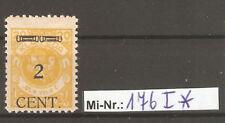 Memelgebiet Mi-Nr.: 176 Type I sauberer Wert mit Falz