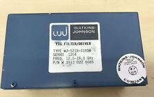 Watkins Johnson yig Filtre/driver wj-5218-018da