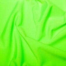 Flo green Lycra/Spandex Stretch Dance/Dress/Sport Fabric150cm Wide FREE P+P