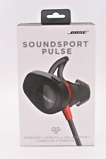 Bose SoundSport Pulse Wireless Headphones Power Black Red