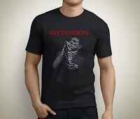 New JOY DIVISION Vintage Ian Curtis Post-Punk Men's Black T-Shirt Size S to 5XL
