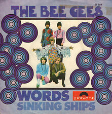 "BEE GEES - Words (1968 VINYL SINGLE 7"" GERMAN PS)"