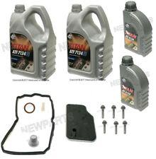Mercedes W164 W212 Automatic Transmission Fluid Filter Kit Drain Plug Pan Bolt