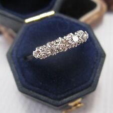 Edwardian 5 Stone Diamond Ring in 18ct & Plat