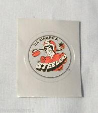 1994  ILLAWARRA STEELERS  SELECT RUGBY LEAGUE  STICKER #127 SILVER FOIL LOGO