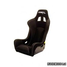 Corbeau Pro-Series Black Bucket Motorsport Seat FIA Track Day Kevlar GRP