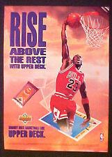 1991-92 Michael Jordan Chicago Bulls~Basketball Memorabilia Upper Deck Cards AD