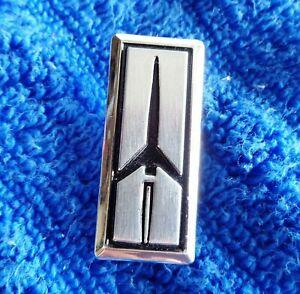 NOS NEW OEM GM 82-85 Cutlass Supreme Chrome Tail Light Lens Emblem Ornament
