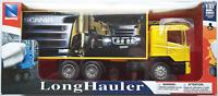 NewRay Scania R124/400 Koffer-LKW gelb 1:32 Spur 1 Neu/OVP Truck Deko Rennbahn