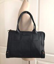 Fossil Women's Black Leather Gwen Classic Zip Satchel handbag ZB6994001 NWT