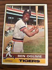 1976 Topps Ben Oglivie Detroit Tigers #659