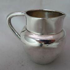 Art Deco Silver Miniature Jug Lee & Wigfull Sheffield 1928 5.6cm 60g A591716