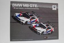 2019 IMSA RLL BMW M8 Hero Card Rolex 24 Hours at Daytona