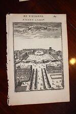 ✒ 1683 MANESSON MALLET belle vue château de VERSAILLES
