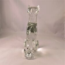 Baccarat Sitting Cat  -  a stunning item