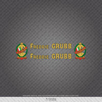 Decals Transfers 01168 F H Grubb Bicycle Stickers