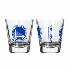 Golden State Warriors Game Day Logo Shot Glass NBA NEW