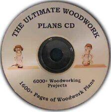 Abri de jardin et plus hangars, une collection de boiseries massive sur 690 Mo sur un CD!