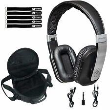 Floyd Rose Foldable Wireless Bluetooth Mic Over Ear Headphones Earphones w Case