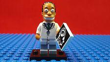LEGO-MINIFIGURES SERIES 2 THE SIMPSONS JULIUS HIBBERT FIGURE NEW WITH LEAFLET