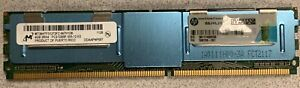 Lot of 4 Micron 4GB 2RX4 PC2-5300F-555-12 Server Memory MT36HTF51272FZ-667H1D6