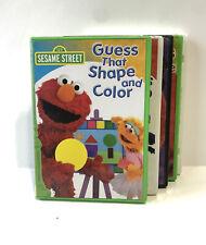 (LOT OF 5) Sesame Street Elmo DVD