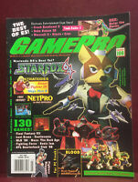 Vintage GAMEPRO Video Game Strategy Magazine July 1997 Star Fox 64 #106