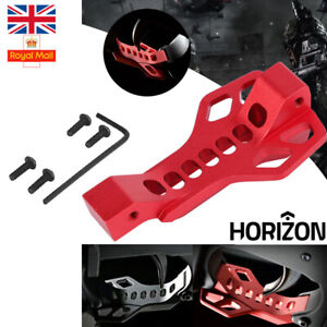 Trigger Guard Bow Airsoft Grade CNC Aluminum Construction Bow Red Black Magazine