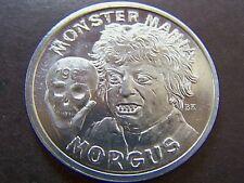 1968 Alla Morgus The Magnificent Plain Aluminum Mardi Gras Doubloon