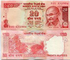 INDIA 20 RUPEES 2016 P 103 NEW DATE UNC