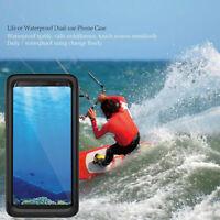 360° FULL WATERPROOF SHOCKPROOF DIRTPROOF CASE COVER FOR SAMSUNG GALAXY S8 PLUS