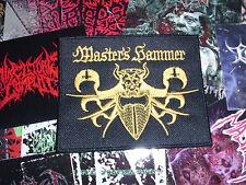 Master's Hammer Patch Root  Black Metal Beherit Bathory Gold Edition