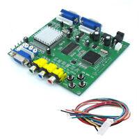 GBS-8220 Video Converter CGA/EGA/YUV/RGB TO VGA Arcade Jamma Game Monitor to LCD